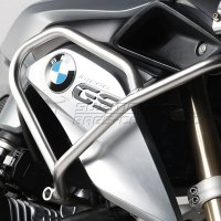 Protetor de Tanque / Carenagem Lateral SW-Motech BMW R1200 GS LC (2013 a 2016/17) Inox