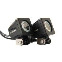 Farol Auxiliar Motocom Quadrado LED