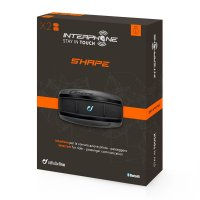Intercomunicador Bluetooth Interphone Shape (Duplo)