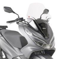Parabrisa Givi Honda PCX 150 (2019 em diante) Transparente 1129DT