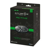 Intercomunicador Bluetooth Interphone Active - 1.000 Metros de Alcance - (Duplo)